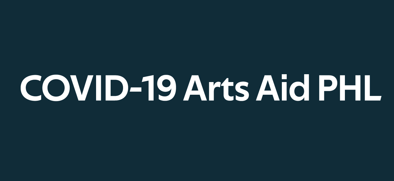 COVID-19 Arts Aid PHL